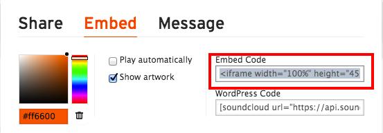 Insérer un Playeur Soundcloud, Mixcloud, une video Youtube ou une image sur le Forum 210