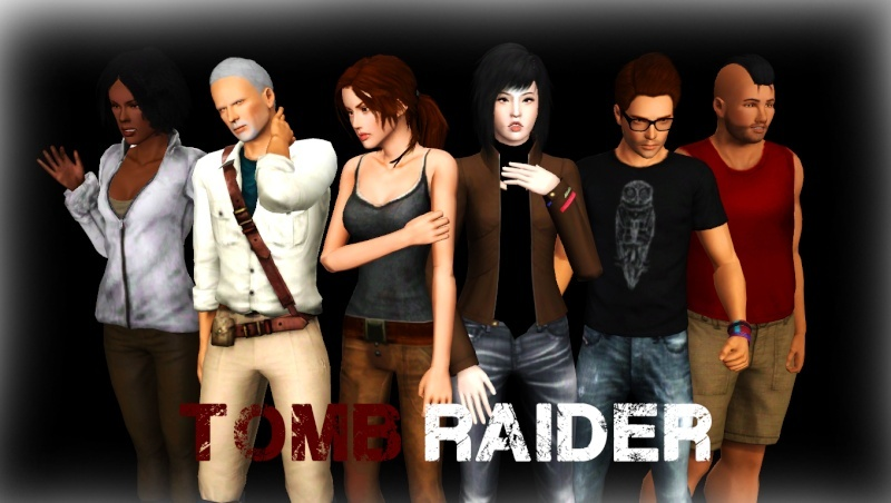 [Créations diverses] Louis-Sims & Zano - Contenu Tomb Raider - Page 3 Shoot_10