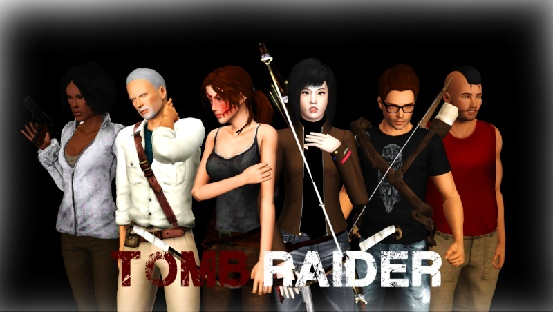 [Créations diverses] Louis-Sims & Zano - Contenu Tomb Raider - Page 3 Shoot_11