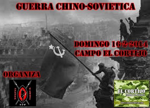 GUERRA CHINO SOVIETICA DOMINGO 16/2/2014 CAMPO EL CORTIJO 11111110