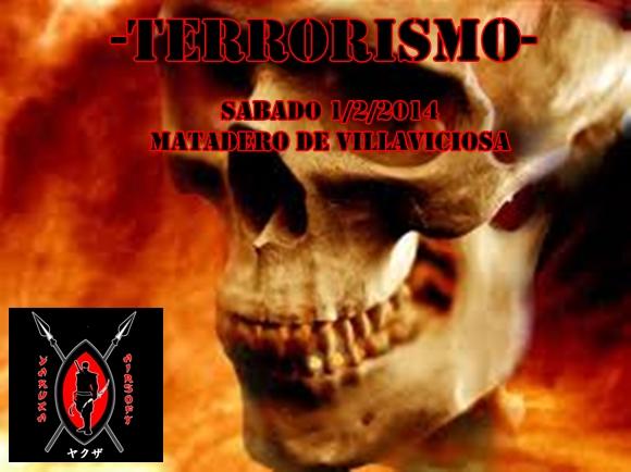 TERRORISMO SABADO 1/2/2014 MATADERO DE VILLAVICIOSA Cartel19