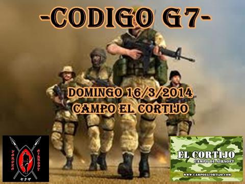 CODIGO G7 DOMINGO 16/03/2014 CAMPO EL CORTIJO Partid10