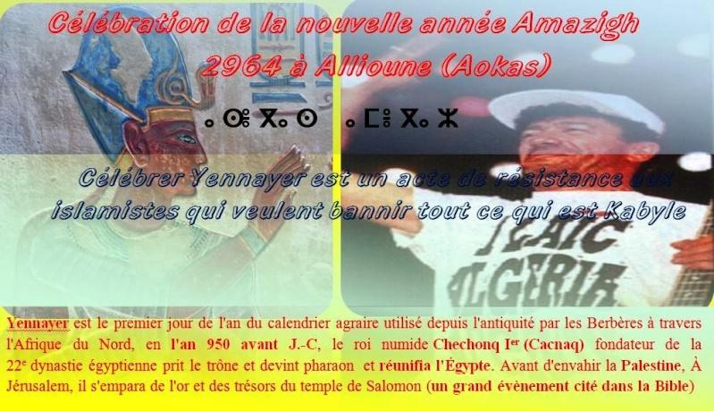 Célébration de Yennayer 2964 à Alliouene (Aokas) Yennay11