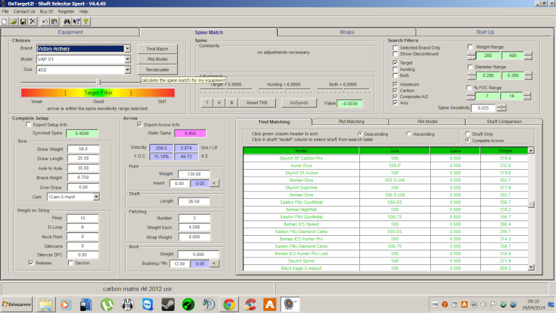 """OT2 """"pour les nuls"""", tutoriel du logiciel On Target 2 (SFA) - Page 2 Ot2spi11"""
