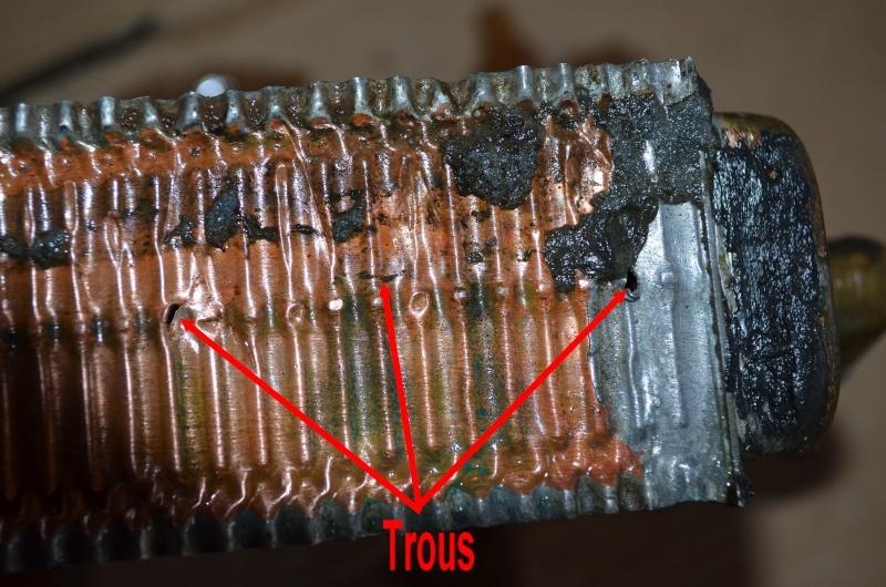 Radiateur de chauffage percé Trous10