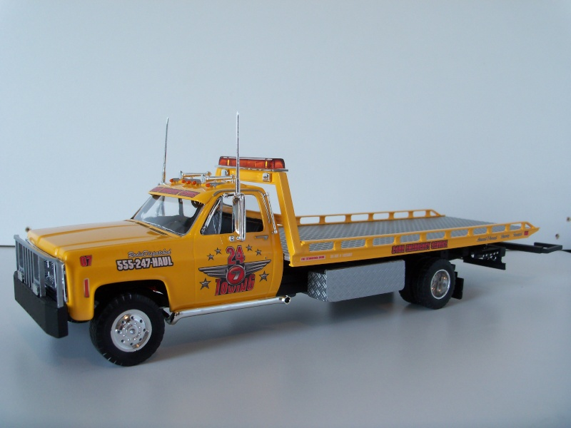 Remorque flatbed avec wheel Lift, GMC C30 1977 100_7114