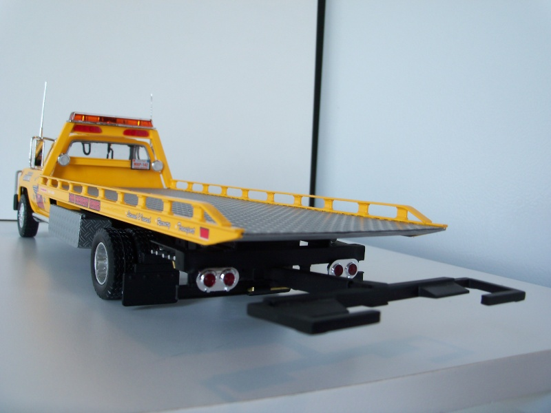 Remorque flatbed avec wheel Lift, GMC C30 1977 100_7118