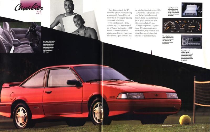 1987  Chevy Cavalier Z-24 Hatchback 93broc10