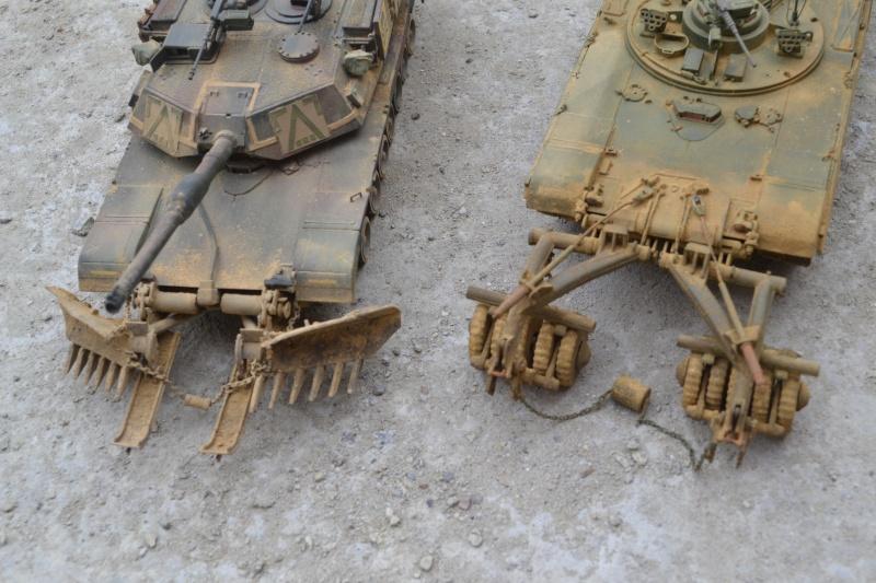 M1 mine rollers et M1 mine plows (dragon et trumpeter 1/35) Dsc_0060