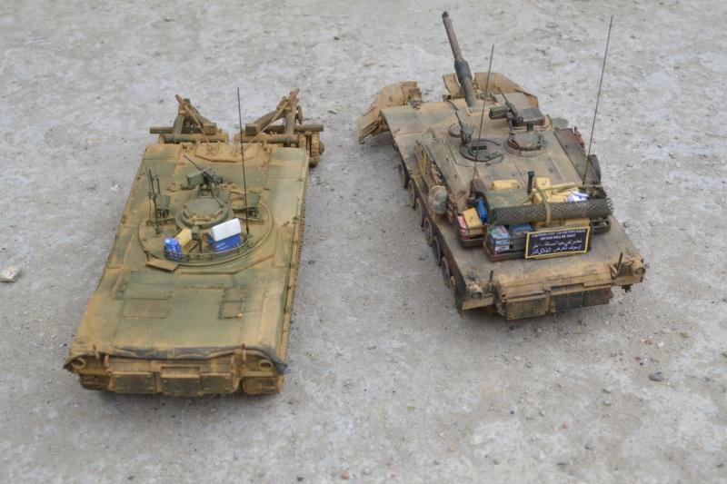 M1 mine rollers et M1 mine plows (dragon et trumpeter 1/35) Dsc_0064
