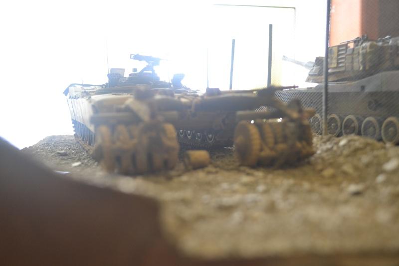 M1 mine rollers et M1 mine plows (dragon et trumpeter 1/35) Dsc_0076