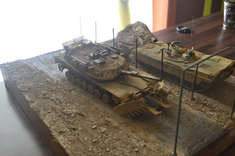 M1 mine rollers et M1 mine plows (dragon et trumpeter 1/35) Dsc_0079