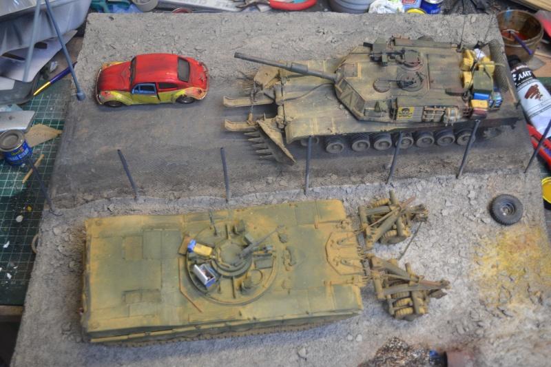 M1 mine rollers et M1 mine plows (dragon et trumpeter 1/35) Dsc_0084