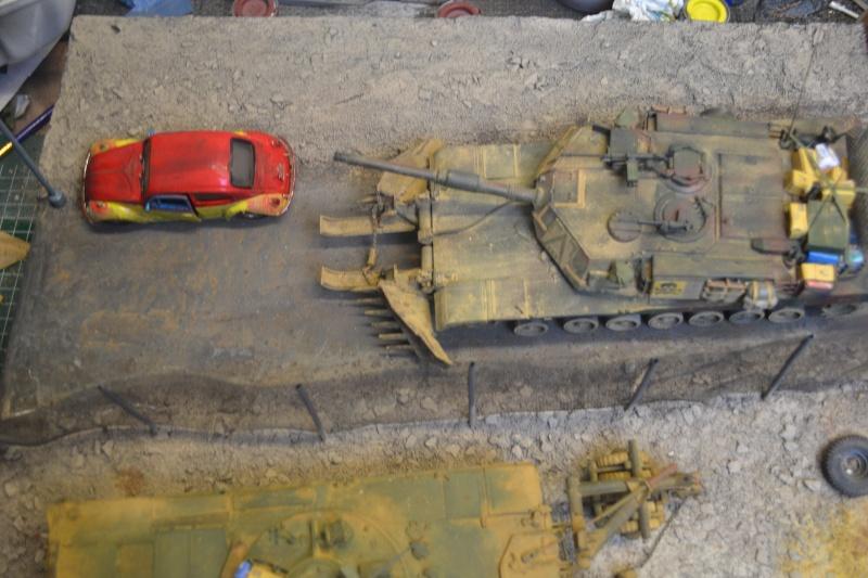 M1 mine rollers et M1 mine plows (dragon et trumpeter 1/35) Dsc_0085