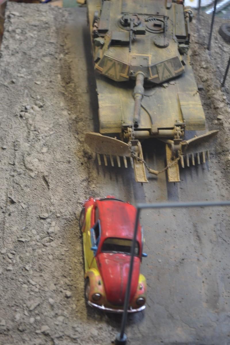 M1 mine rollers et M1 mine plows (dragon et trumpeter 1/35) Dsc_0092