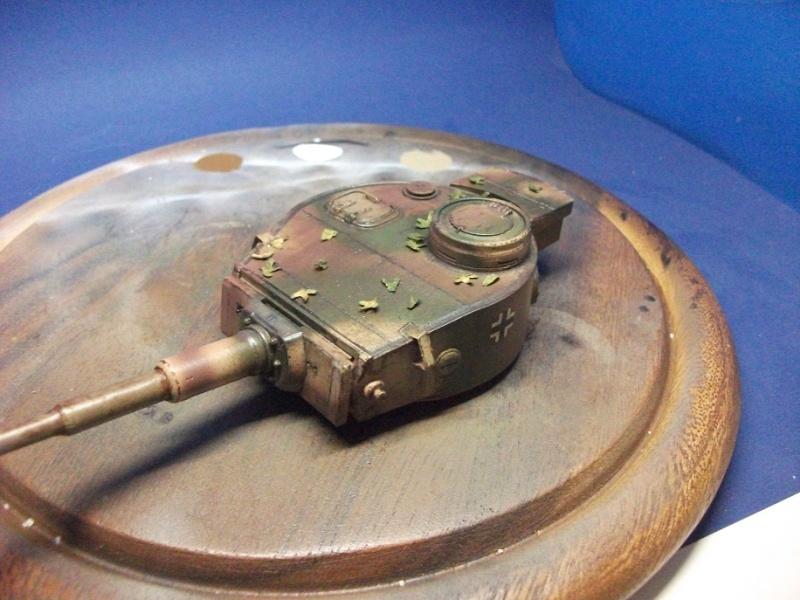 panzer - Tourelle Panzer VI P Dscf1032