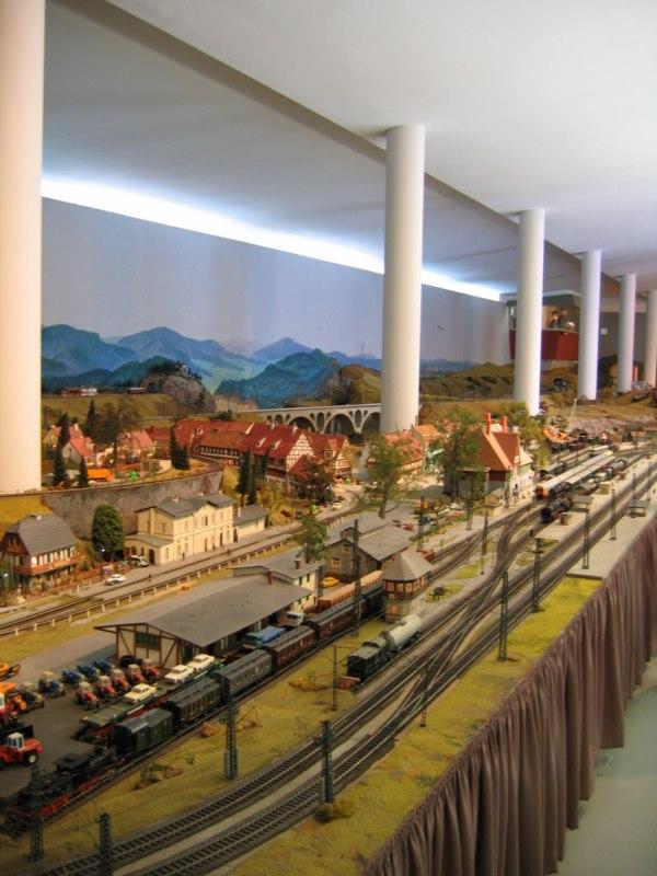 Spur 0 Anlage im Verkehrsmuseum Dresden Dres111