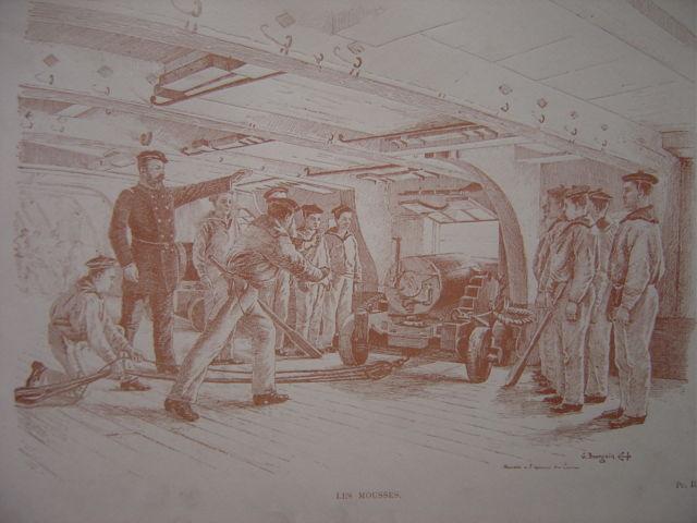 Poste de combat, illustrations d'époque demandées Poste_10