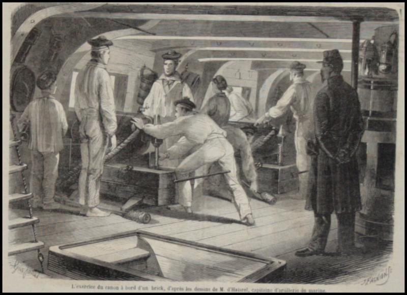 Poste de combat, illustrations d'époque demandées Poste_11