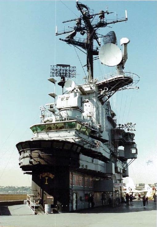 Visite de l'USS INTREPID EN 1992 Img-9212