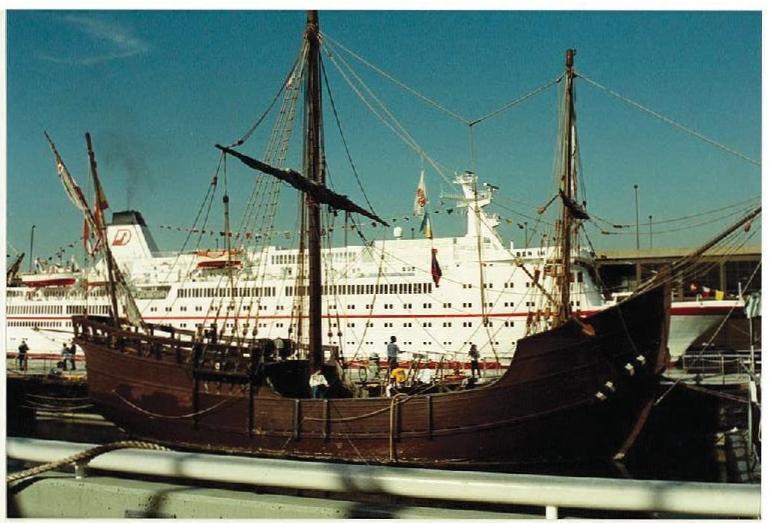 Visite de l'USS INTREPID EN 1992 Img-9218