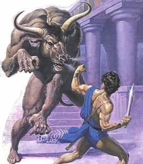 Le dragon (la force sexuelle) dans les contes et les mythes - le dragon ailé Thesee10