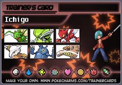 La team pokemon de votre personnage. Talach10