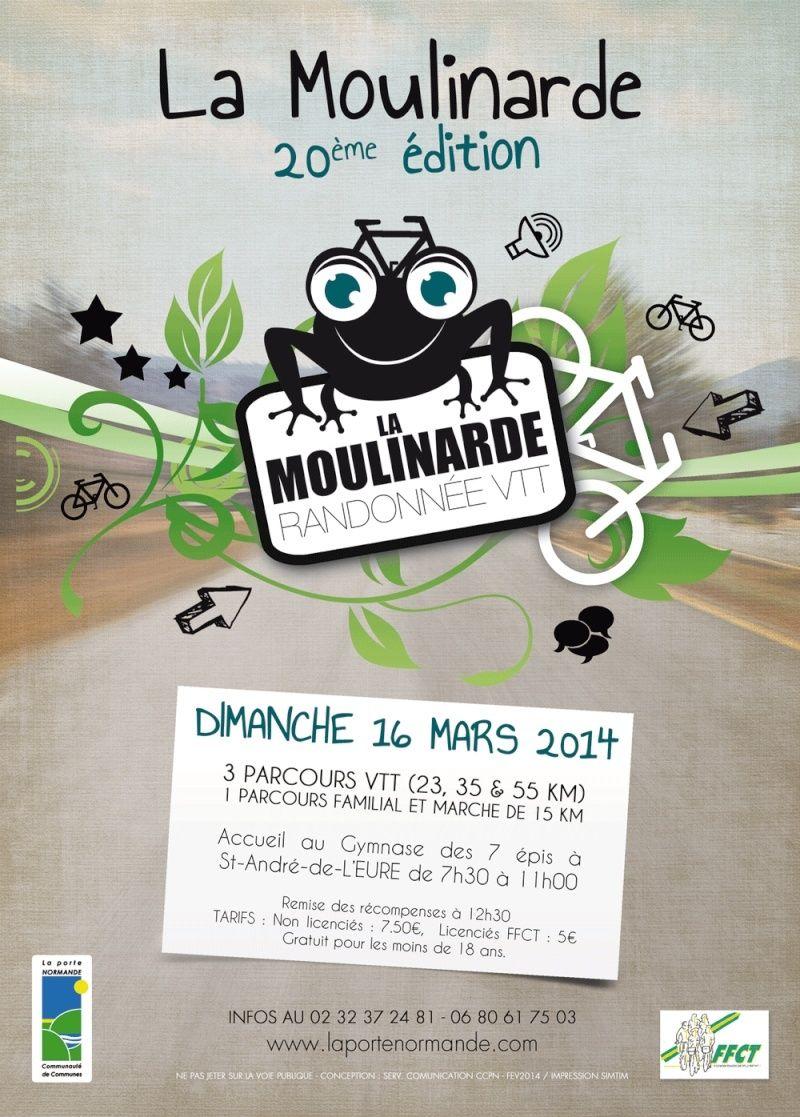 [16 Mars 2014] La 20ème Moulinarde à St André de l'Eure Moulin11