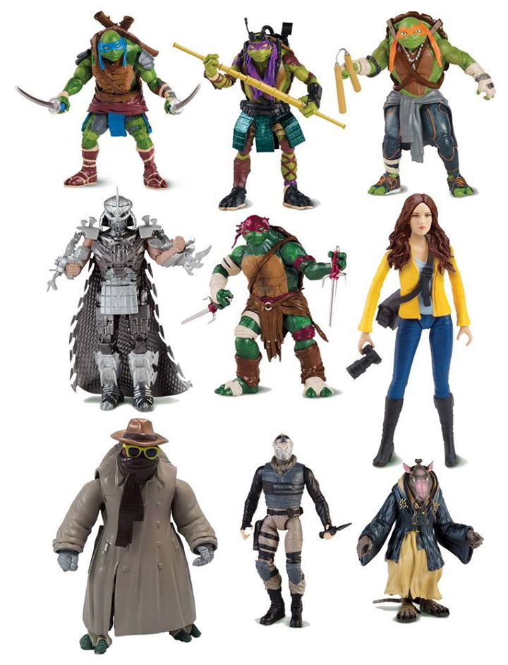 Ninja Turtles (2014) : Figurines du film Paramount  - Page 2 85896710