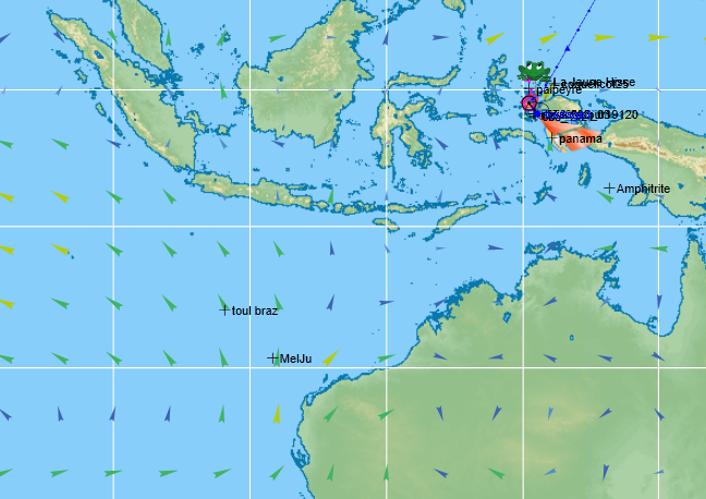 VLM    La 1421-3 l'hemisphere sud  Captur10