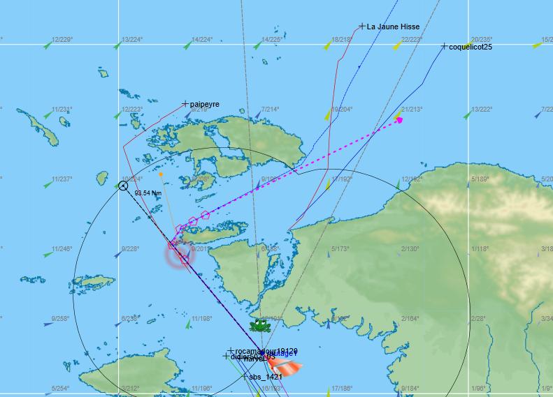 VLM    La 1421-3 l'hemisphere sud  Captur11