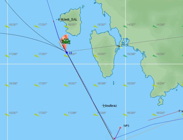 VLM....900 nautiques de Saint-Tropez Captur39