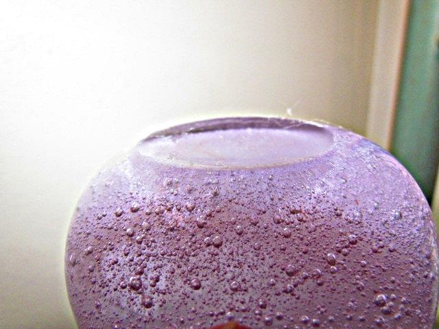 Pulegoso Neodymium Glass Vase Img_3113