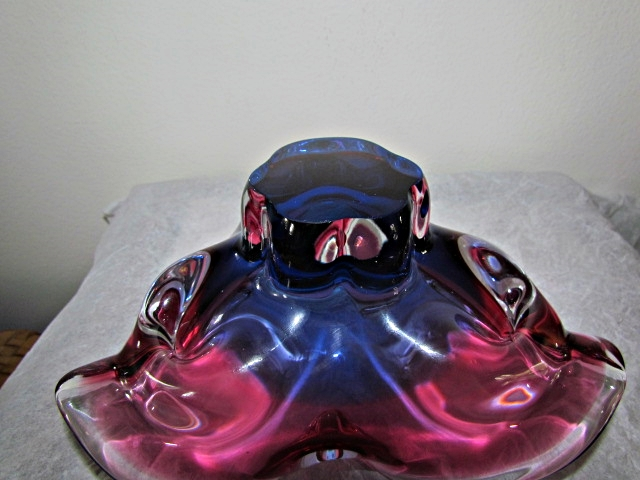 Could this be a Czech Glass Ashtray Img_4113