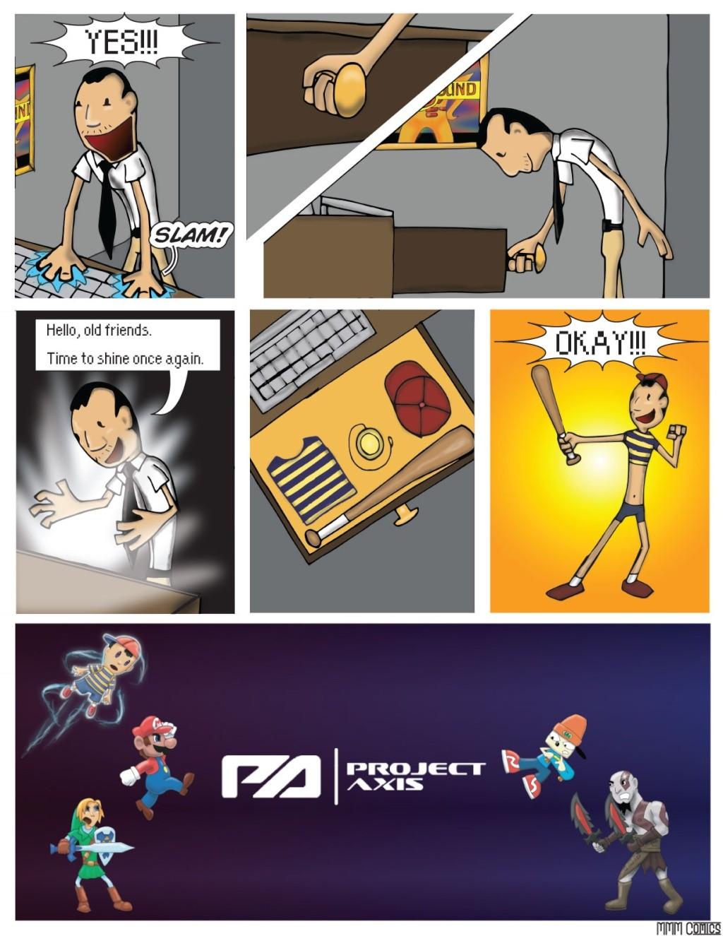 MMM Comics presents:  Project Axis Comics! (NEW COMIC UP! 9/14/2014) Projec19