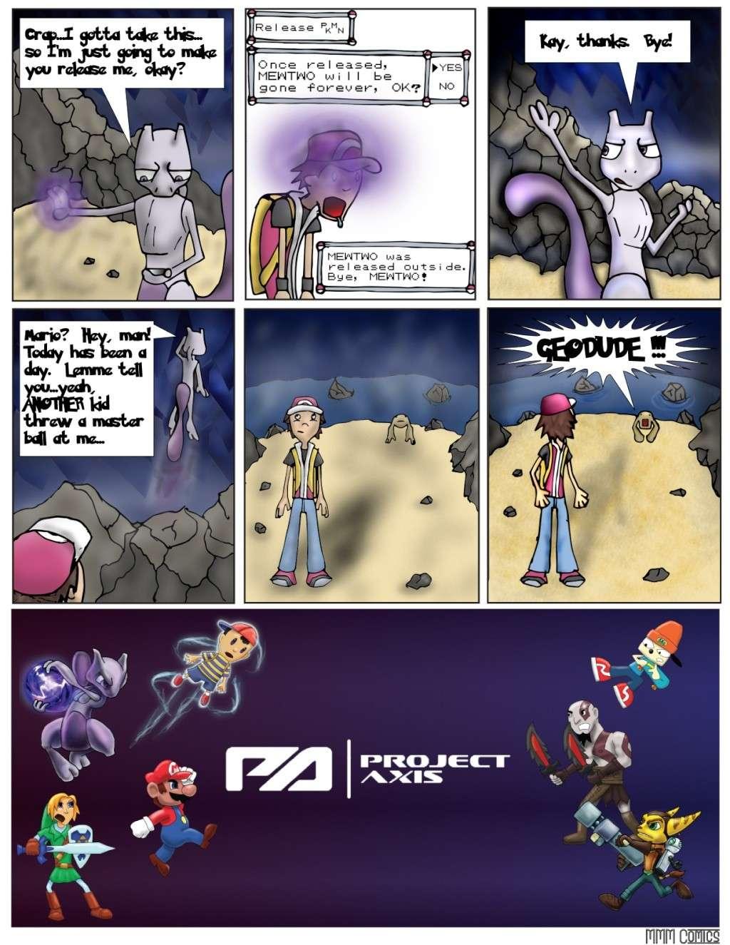 MMM Comics presents:  Project Axis Comics! (NEW COMIC UP! 9/14/2014) Projec29