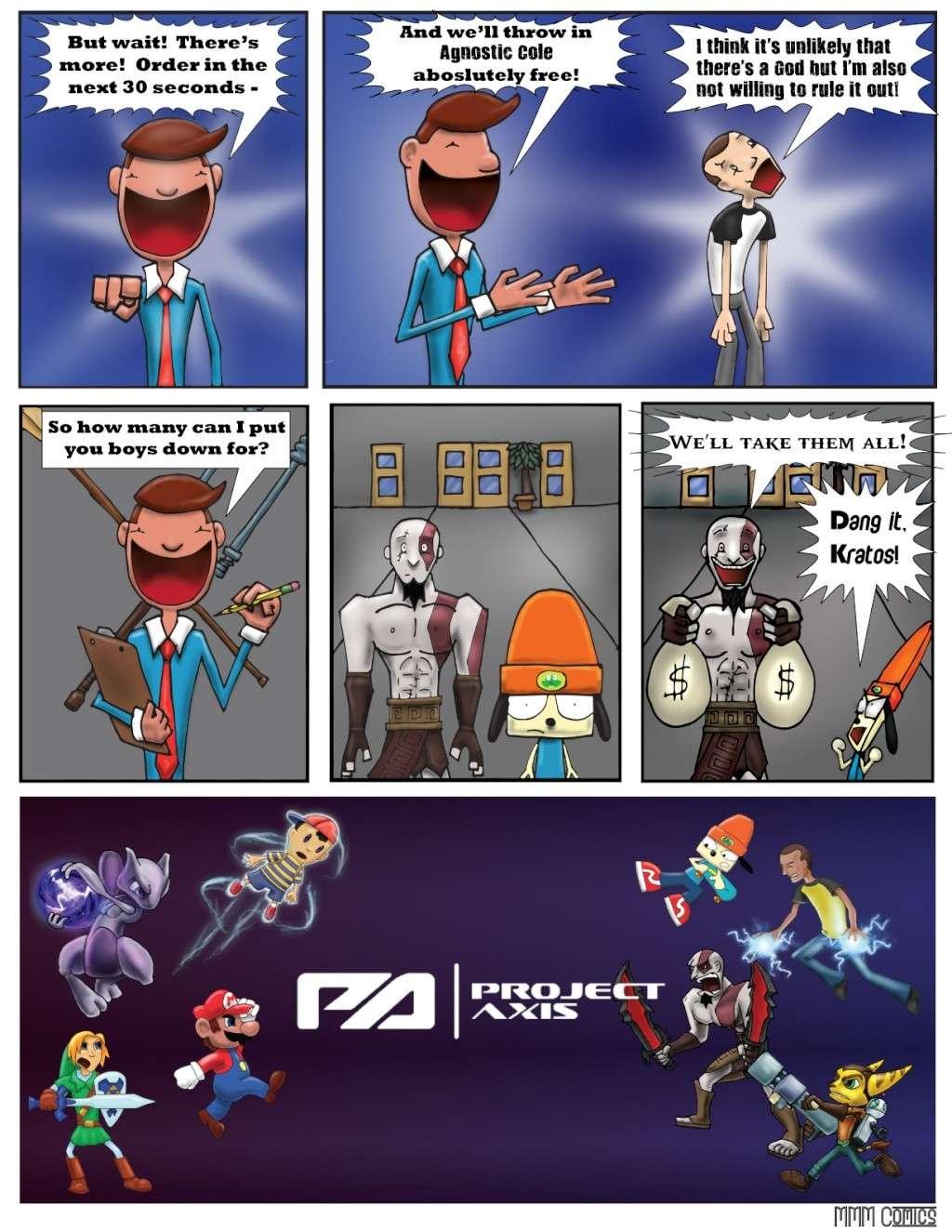 MMM Comics presents:  Project Axis Comics! (NEW COMIC UP! 9/14/2014) Projec33