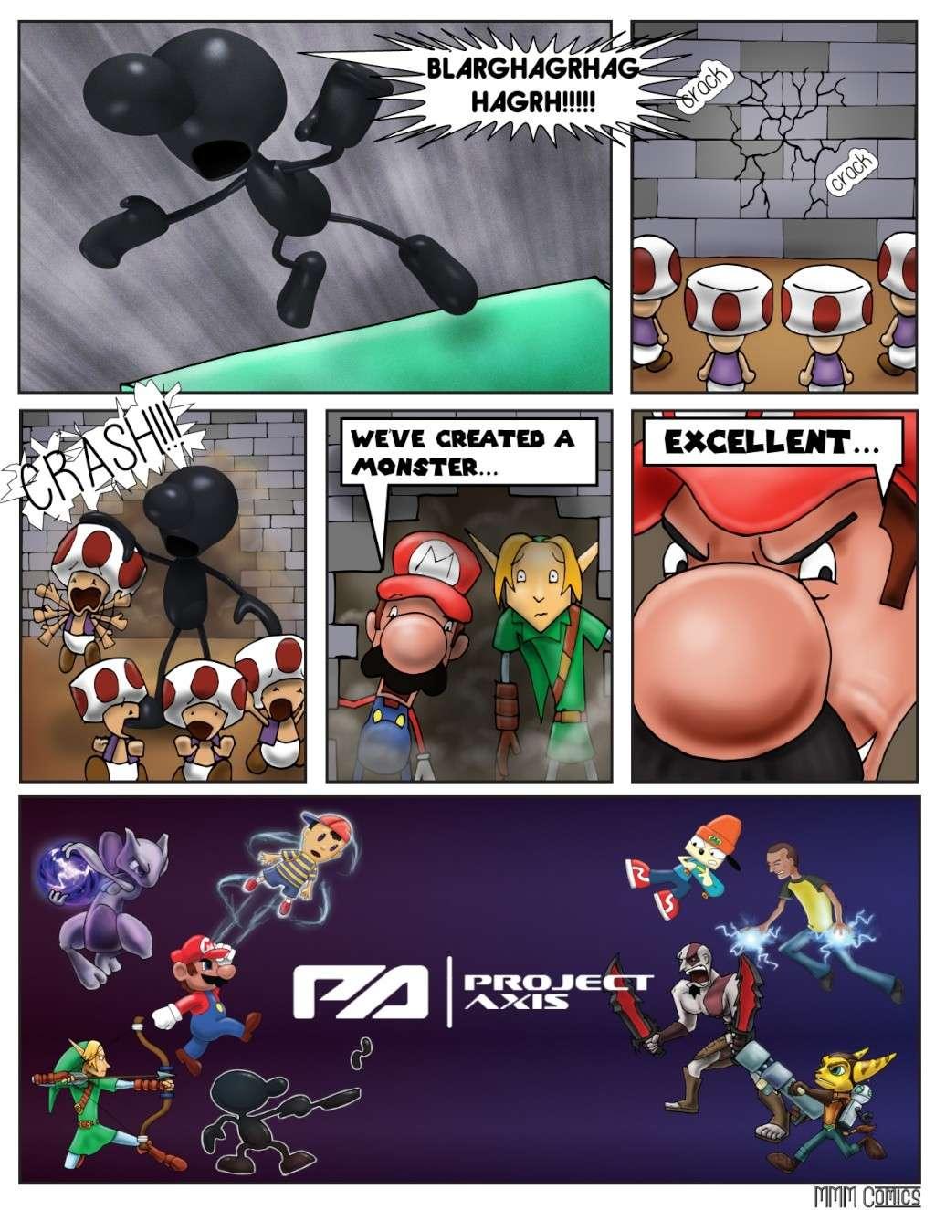 MMM Comics presents:  Project Axis Comics! (NEW COMIC UP! 9/14/2014) Projec42