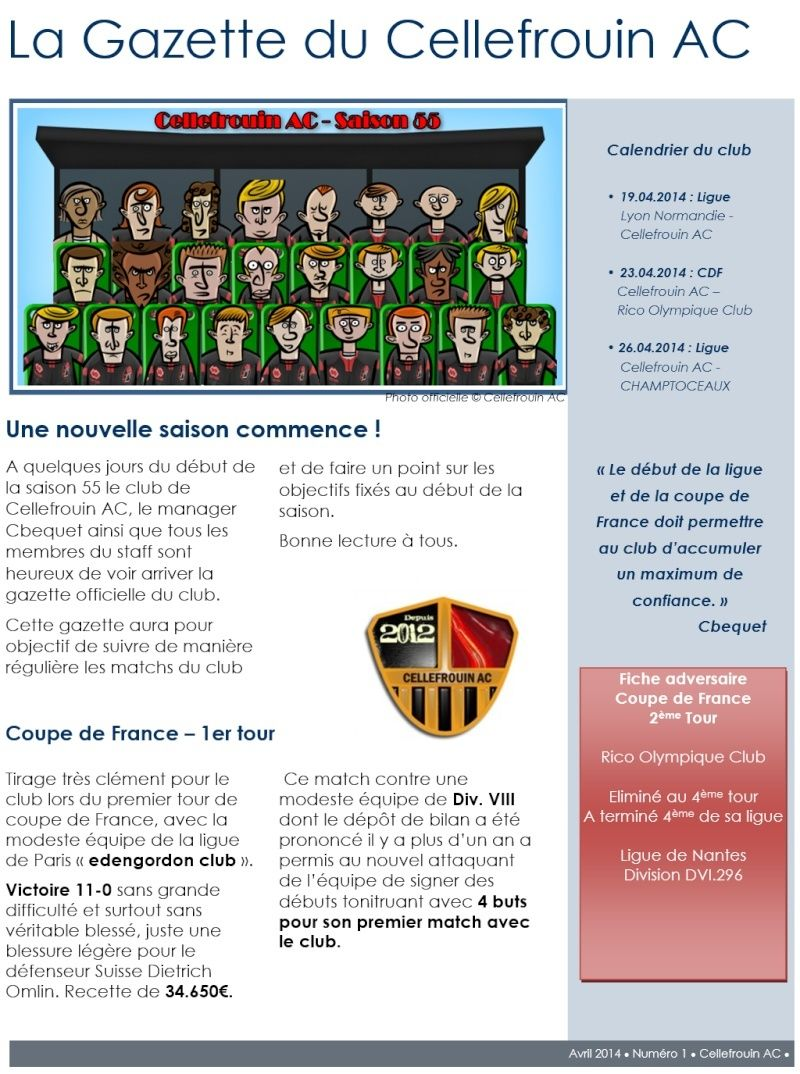 La gazette du Cellefrouin AC Gazett11