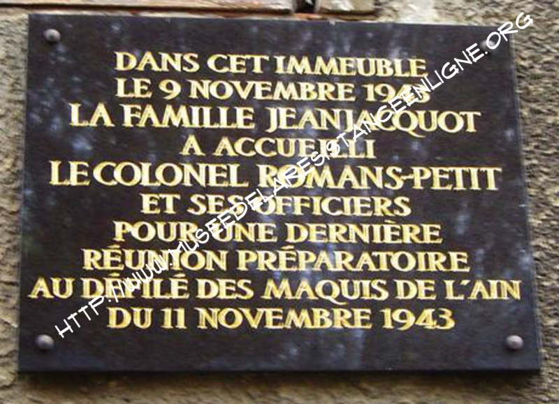 11 novembre 1943 : le défilé d'Oyonnax 370310