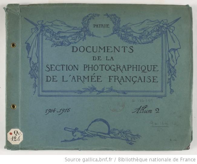 Documents de la Section photographique de l'Armée française 14/16 F1_hig37