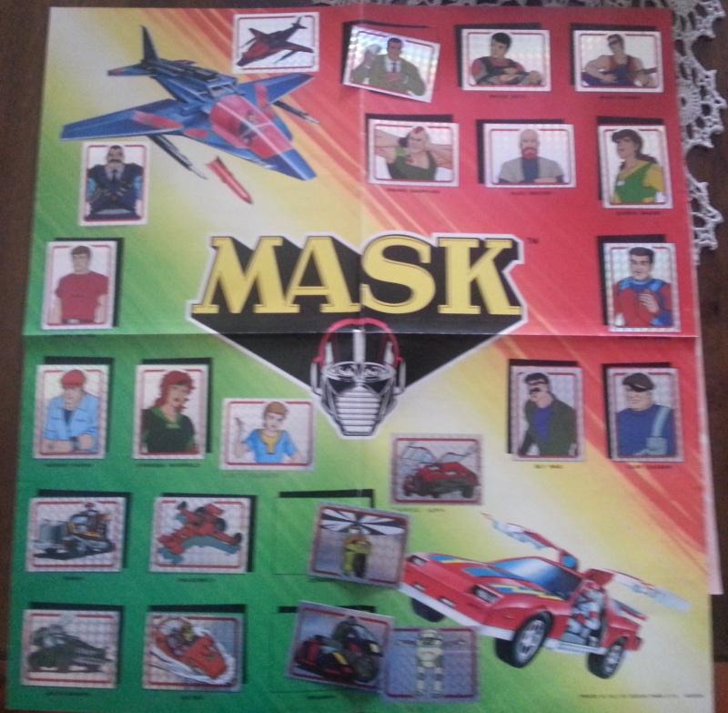 album MASK panini 20140413