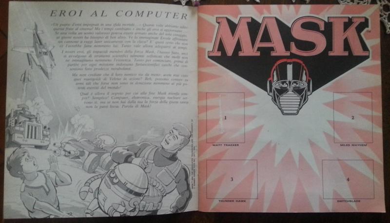 album MASK panini Pi5jgb10