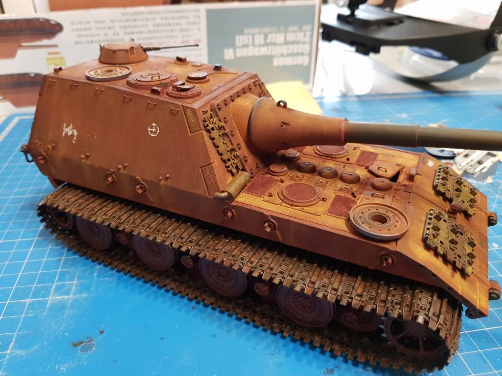 Jagdpanzer E 100  Amusing Hobby 1/35 20190111