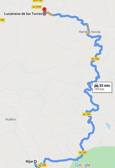 RUTA NIVEL 5 (1000 KM): VIERNES 10 a DOMINGO 12 de JULIO Etapa212