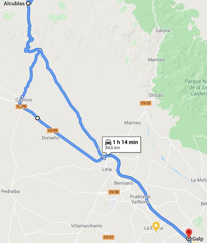 DOMINGO 28 DE JUNIO: SALIDA ALMUERZO EN COLLAO DE LA SECA (ALCUBLAS) (NIVEL1) Nivel_22