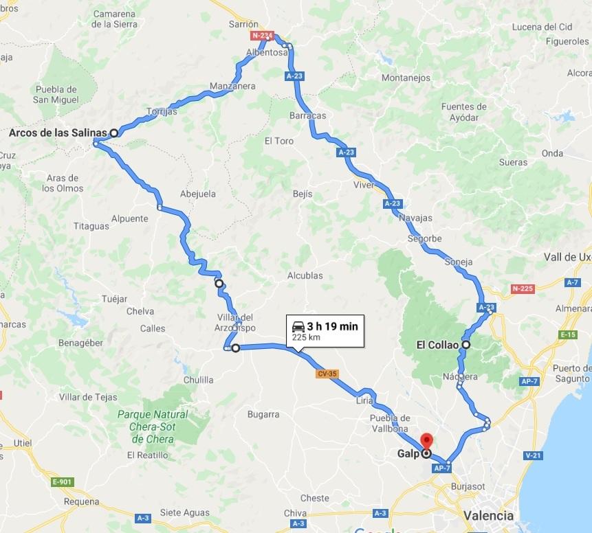 DOMINGO 6 DE SEPTIEMBRE 2020: SALIDA ALMUERZO A ARCOS DE LAS SALINAS (NIVEL 3) Nivel_32
