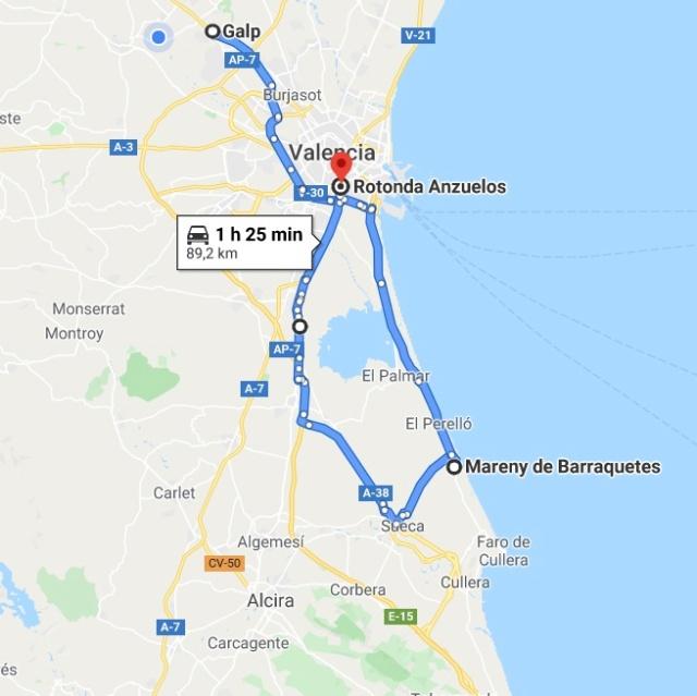 DOMINGO 9 de MAYO: Ruta y almuerzo en el Mareny de Barraquetes (Nivel 1) Nivel_96