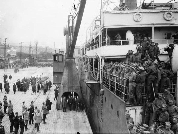Le corps expéditionaire russe en France Diapos24