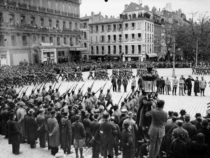Le corps expéditionaire russe en France Diapos25